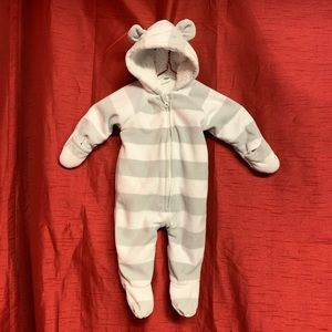 Old Navy Onesie with Bear Ears Size 3-6 Months